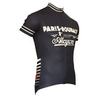 PARIS ROUBAIX MENS SHORT SLEEVE CYCLING JERSEY by Retro Image Apparel