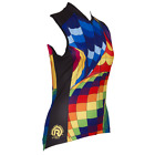 BALLOON WOMENS SLEEVELESS CYCLING JERSEY by Retro Image Apparel