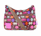 Sanrio Hello Kitty Brown Nature Shoulder Bag Purse Tote  Travel