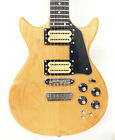 1980's Carvin DC150 Stereo Natural Maple 6 String Electric Guitar