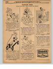 1927 PAPER AD 3 PG Hustler Ted Teddy Racer Toys Doc Betty Roll Duck Joe Pup Pete