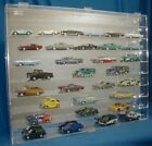 Wall Mount Diecast Car Display Case 1:43 Scale 54/43