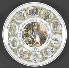 Wedgwood PETER RABBIT BIRTHDAY Plate 1991 NoBox 1189136