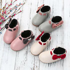 Toddler BabyGirls Boots Shoes Children Bowknot Sneaker Boots Zipper Casual Shoes