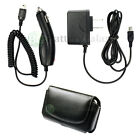 Wall+Car Charger+Leather Phone Case for Android HTC 8525 8925 Tilt 2 Hero Imagio