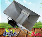 110V Electric Two Wheel Sainless Steel Fruit and Vegetable Crusher