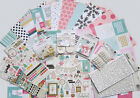 New Crate Paper  SNOW  COCOA Paper  Embellishments Set A Save 45