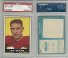 1961 Topps Football Cards 33