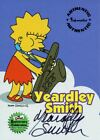 Simpsons 10th Anniversary Autograph Card A3 Yeardley Smith