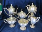 CO M STERLING CHOICE 6 PIECE TEA SET OVERALL XLNT CONDITION FINE MON0