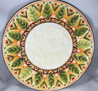 1 Global Market Dinner Plate Floral Fitz & Floyd Embossed Floral Bird 314945