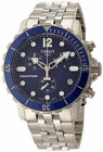Tissot Seastar Chronograph Date Blue Dial 44MM Steel Men Watch T0664171104700