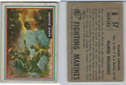 1953 Topps Fighting Marines Trading Cards 16