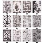 Various Plastic Embossing Folders for DIY Card Making Decoration Supplies SS US