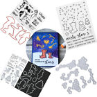 Dancing Women Silicone Clear StampCutting Dies Stencil for Scrapbook Card Decor