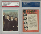 1964 Topps, Beatles Color, #12 John, Paul and Ringo, John Speaking, PSA 7 NM