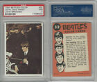 1964 Topps, Beatles Color, #32 John, Dog and Ringo, John Speaking, PSA 7 NM