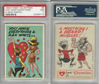 1959 Topps Funny Valentines Trading Cards 31