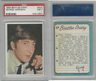 1964 Topps, Beatles Diary, #42A George Harrison, PSA 7 NM