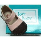 Itzy Bitzy Size 2 Pink  Brown Infant Girl Mary Jane Shoes New