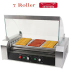 Kitchen 7/11 -Roller Stainless Steel Hotdog Machine Sausage Grill 18pcs Hotdogs