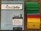 All About Spelling Level 1 Teachers Manual and Level 1 Cards