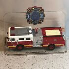CODE 3 COLLECTIBLES FIRE ENGINE TRUCK DIECAST MODEL CITY OF LOUISVILLE HOSE RED