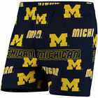 Concepts Sport Michigan Wolverines Navy Slide Boxer Shorts College