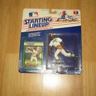 1989 DAVE STEWART OAKLAND A's KENNER STARTING LINEUP SLU MOC SEALED