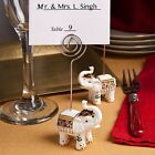 Good Luck Elephant Place Card Holder Wedding Bridal Shower Party Favors