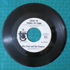 Max Frost  Troopers Shape of Things To Come b w Free 1968 Printed Promo 45 Rpm