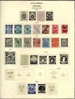 COLOMBIA ANTIOQUIA OLD TIME COLLECTORS PAGES HIGH VALUE 1868 1885