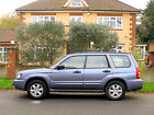 LARGER PHOTOS: 2005 SUBARU FORESTER 2.0 XLN AWD RARE SAT NAV FULL LEATHER ALLOYS 1 YEAR MOT