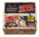 Factory Sealed 24 Pack Box 2016 Score Football Cards CARSON WENTZ