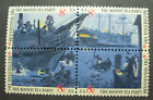 US Postage Stamps Mint NH Scott 1480 1483 BOSTON TEA PARTY Block of 4