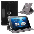 Universal Leather Flip Case Cover For 7 inch Android Tablet PC Black