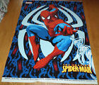 Spider man  Spidey  dated 2007 Unfinished FLEECE Fabric Panel