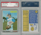 1970 Topps Baseball, #622 Don Sutton HOF, Dodgers, PSA 9 Mint