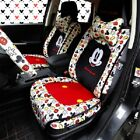 New Listing - Mickey Minnie Mouse Car Seat Cushions Accessories Set