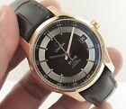 Omega De Ville Hour Vision Ref 431.63.41.21.13.001 18k Gold Co-Axial Men's Watch
