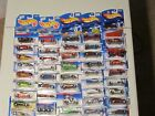Hot Wheels 62 piece lot Nice assortment of old  new releases Some HTF