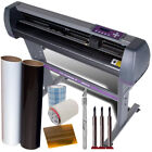 USCutter 28 Vinyl Cutter Plotter KIT + Design Cut Software Make Decals Signs
