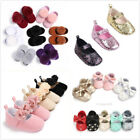 US Baby Girl Shoes Toddler Newborn Shoes Soft Sole Prewalkers Anti slip Sneakers