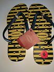 NWTHavaianas RARE Bumble Bee sandals flip flops size 6
