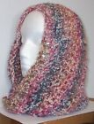 ONE HAND CROCHETED ETERNITY INFINITY SCARF MIMOSA