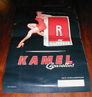 1998 RED Kamel Cigarettes Pin Up Advertising sign adhesive backed