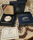 2010 American Veterans Disabled for Life Proof Silver Dollar w Box and COA