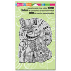 STAMPENDOUS RUBBER STAMPS CLING STEAM PUMPKIN HALLOWEEN NEW cling STAMP