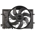 Brand New Radiator Or Condenser Cooling Fan Assembly Fits Mercedes C