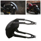 No Groove Tires Motorcycle Plastic Rear Wheel Cover Fender Splash Guard Mudguard